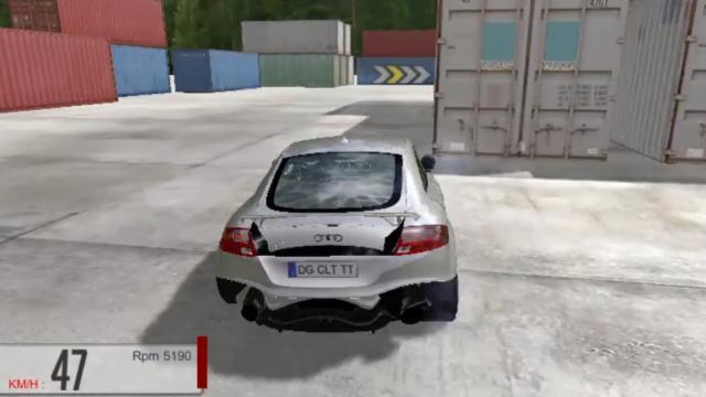 Audi Tt Drift Free Online Audi Drifting Game