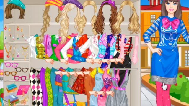 barbie nerdy princess game girlsplay com