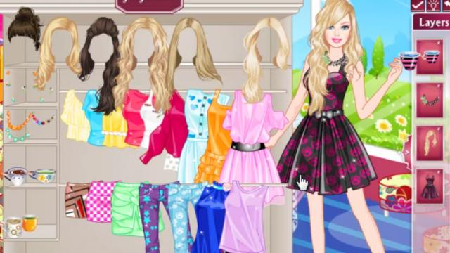 barbie tea time game girlsplay com