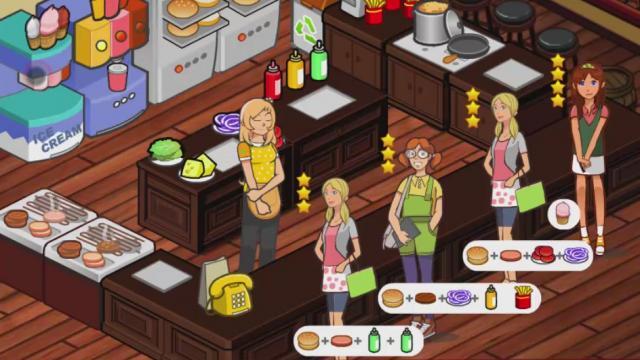 jeux flash restaurant gestion