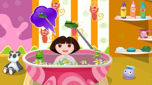 gahe games baby bathing gamesworld. Black Bedroom Furniture Sets. Home Design Ideas