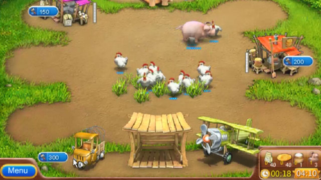 Hacked farming games