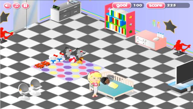 Frenzy Babysitter Jeux Gratuits En Ligne Sur Silvergames Com