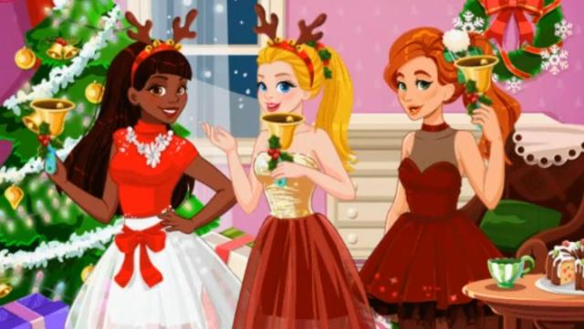 Girls Play Christmas Party - Girls Play Christmas Party Spiele auf ...