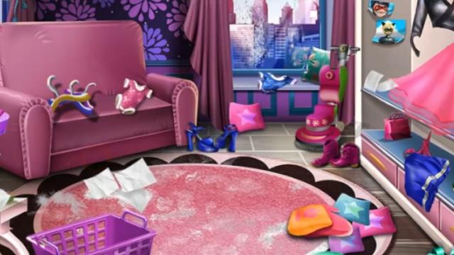 Girly House Cleaning Game - GirlsPlay.com