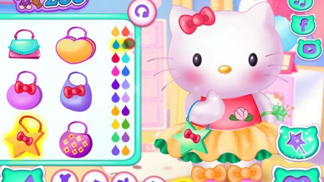 Hello Kitty Prom Prep Game on GirlG.com