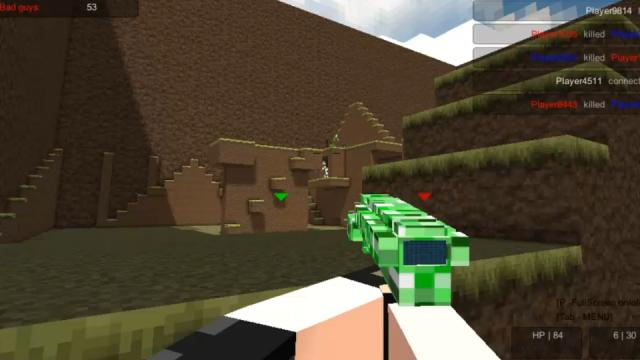 Pixel Warfare Free Online Game On Silvergamescom - Minecraft gun spiele