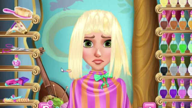 rapunzel real haircuts game girlsplay com