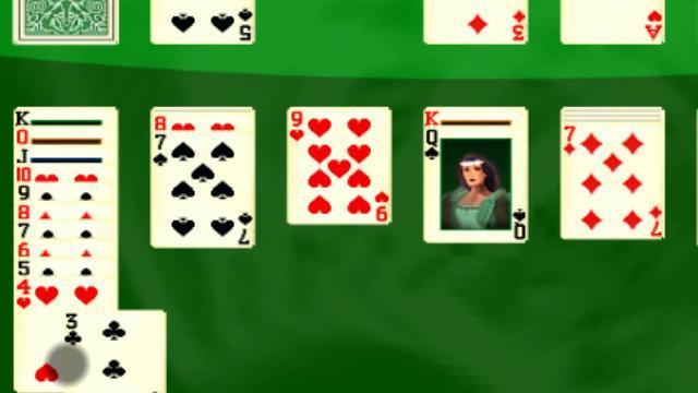 réussite jeu de carte